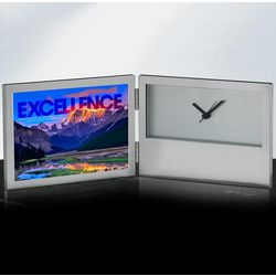Excellence Mountain Desk Clock