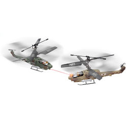 Remote Controlled Dueling Helicopters