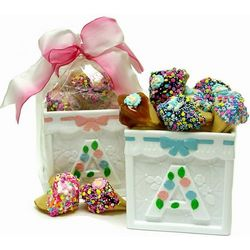 New Baby Fortune Cookies Building Block Box