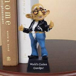 Coolest Grandpa Figurine