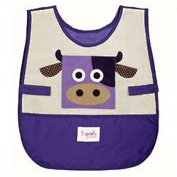 Eco-Friendly Cow Art Smock