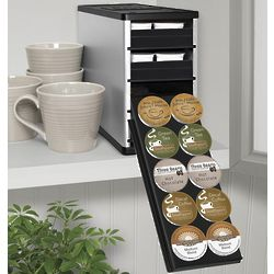 CoffeeStack K-Cup, Single-Cup Coffee Organizer