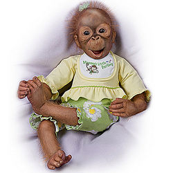 Lola Poseable Monkey Doll