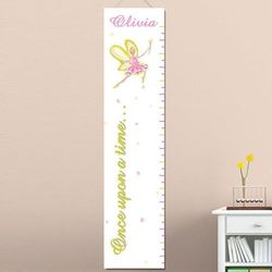 Fairy Princess Personalized Growth Chart