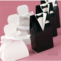 Wedding Dress Favor Boxes