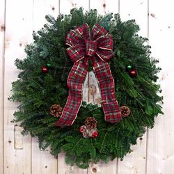 "The Grinch 24"" Balsam Christmas Wreath"