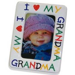 I Love My Grandma Picture Frame