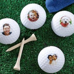 Personalized Photo Perfect Golf Ball Set