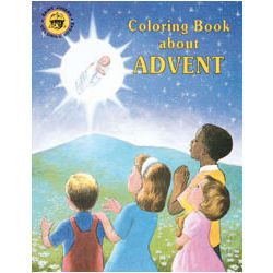 Coloring Book about Advent