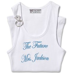 Personalized The Future Tank with Ring Broach