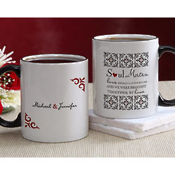 Personalized Soul Mates Romantic Coffee Mug