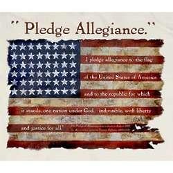 Pledge Allegiance Off-White T-Shirt
