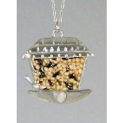 Bird Feeder Necklace