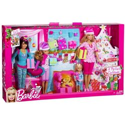 Barbie Sisters Holiday 4 Pack