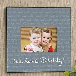 Our Little Ones 5x7 Personalized Wall Frame