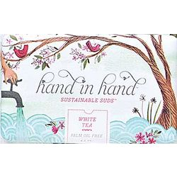 White Tea Hand in Hand Soap