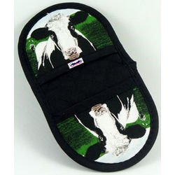 Cow Microwave Potholder