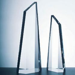 Crystal Polygon Obelisk Award
