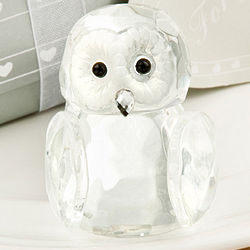 For You Crystal Owl Figurine