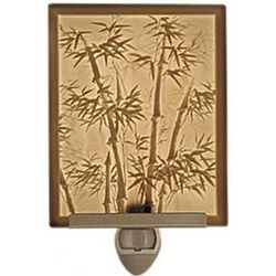 Bamboo Motif Lithophane Night Light