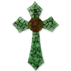 Light of Faith Stained Glass Cross