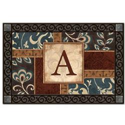 Personal Elegance Monogram MatMates Doormat