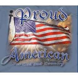 Proud American Blue T-Shirt