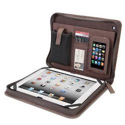 Kangaroo Leather iPad Portfolio