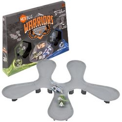 Hexbug Warriors Viridia vs. Bionika Battle Arena