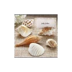 Seashell Placecard Holders with Matching Placecards
