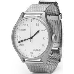 Stainless Steel Equation Geek Watch
