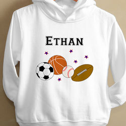 You Choose Toddler Hooded Sweatshirt