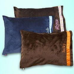 Kid's Ribbon Border Pillow Cover