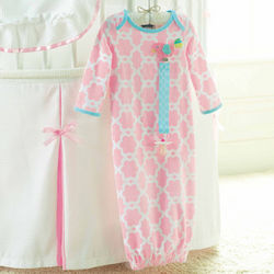 Baby Chick Gown and Pacy Clip Set