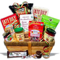 Gourmet Organic Food Gift Basket