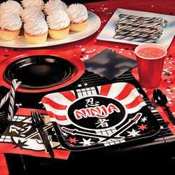Ninja Warrior Basic Party Tableware