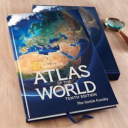 National Geographic 10th Edition Atlas of the World Hardcover