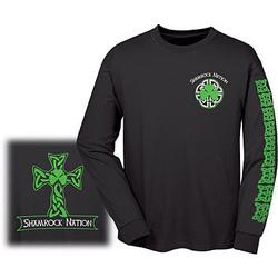 'Shamrock Nation' Long Sleeve Shirt