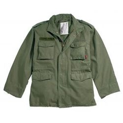 Vintage M-65 Field Jacket with Ultra Force Patch