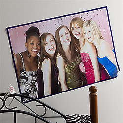 Large Personalized Photo Poster