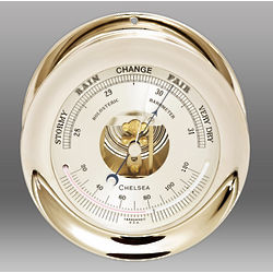 Ship's Bell Barometer