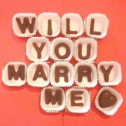 Will You Marry Me Milk Chocolate Gift Box