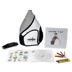 Ring Bearer Wedding Activity Backpack