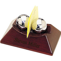 Personalized Chinese Therapy Balls and Business Card Holder