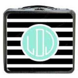 Monogram Chalk It Up Lunch Box