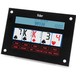 Touchscreen Hand-Held Poker Game