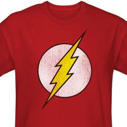 The Flash Distressed Logo T-Shirt