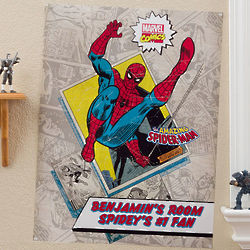Personalized Small Marvel Comics Superhero Poster
