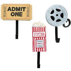 Movie Night Wall Hooks