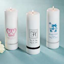 Personalized Wedding Unity Candle